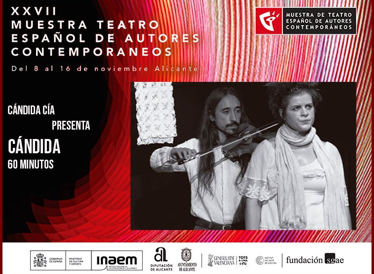 Cándida | Muestra de teatro | 16 noviembre