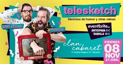 Telesketch | Sketches de humor y otras vainas | 08 noviembre