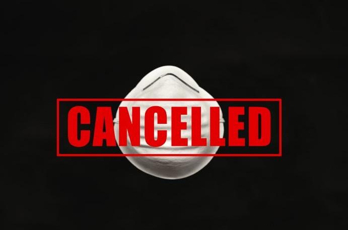 cancelación de eventos