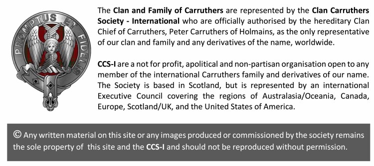 Clan Carruthers Society WP footnote grey 3