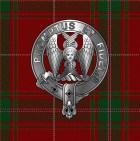tartan and crest and tartan fb profile pic