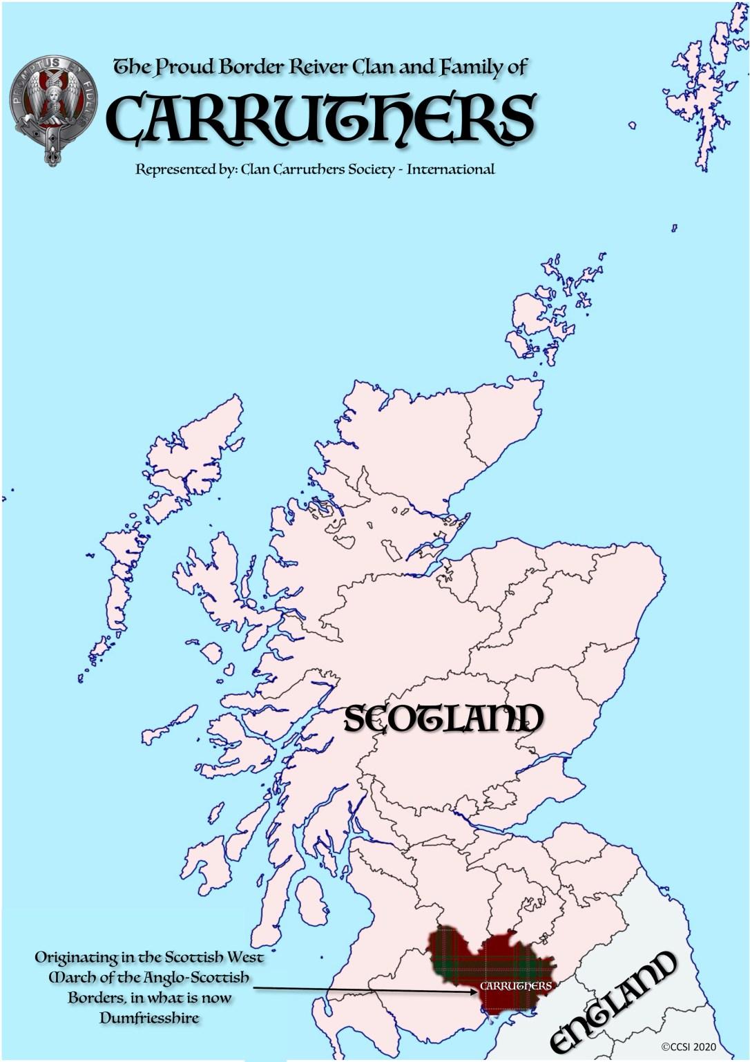 Carruthers Scotland  Map Tartan and Dumfrieshire.jpg
