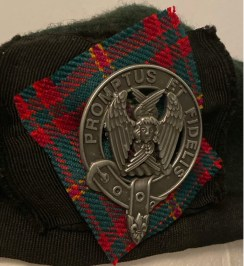 cap badge on tartan.jpeg