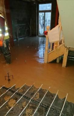Clancon Build constructors installing floors