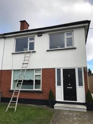 Clancon build installing triple glazed windows