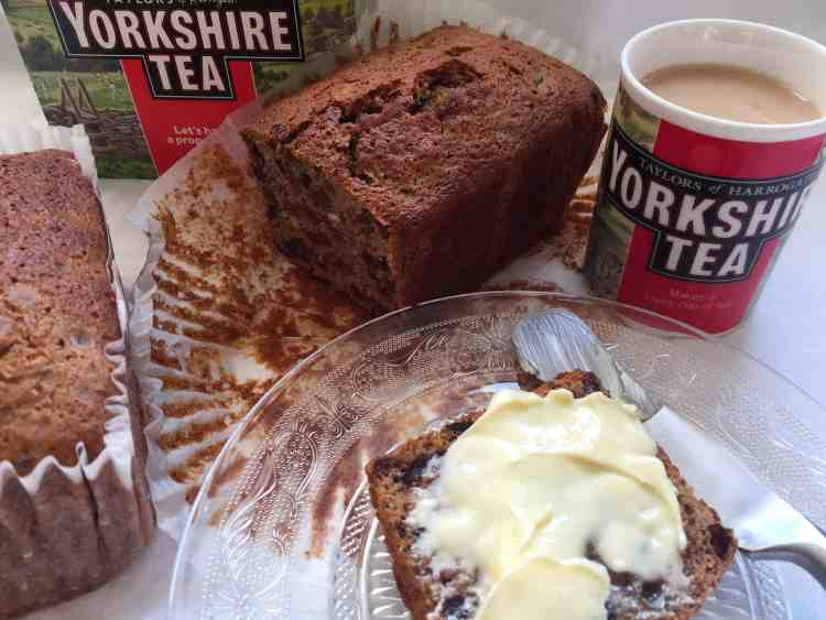 Yorkshire Tea Loaf, cup of yorkshire tea
