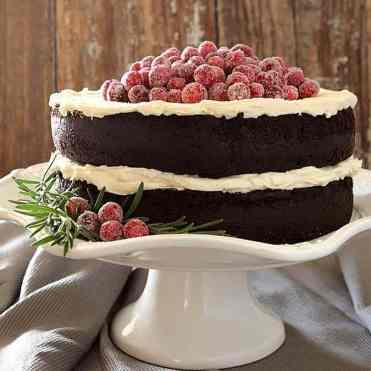 Festive Chocolate cake