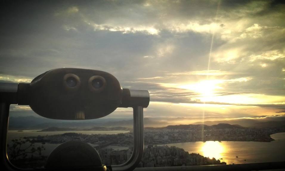 Vista do Mirante do Morro da Cruz