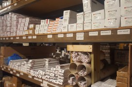 Picture of Clanrye Electrical's Stock Room Newry Fluorescent LED battens