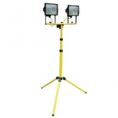 Yellow Tripod and Site Light |