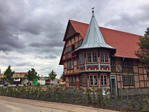 Rindersatall am Duderstädter Schützenplatz