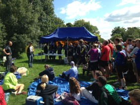 Thames River Relay prize giving