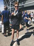 James B, 3h20 in the Manchester Marathon