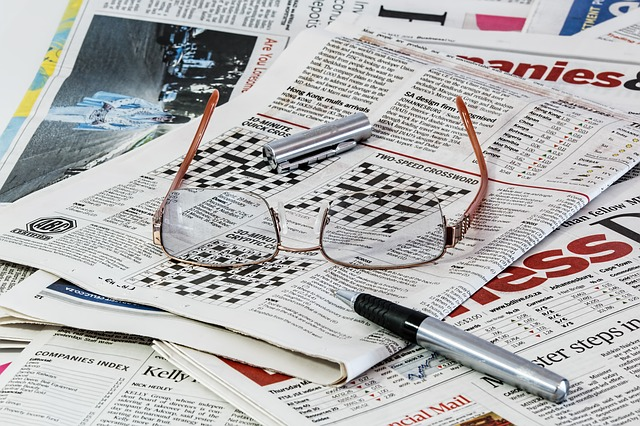Newspapers pitching public relations
