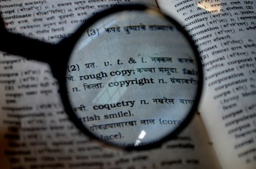 copyright, writing