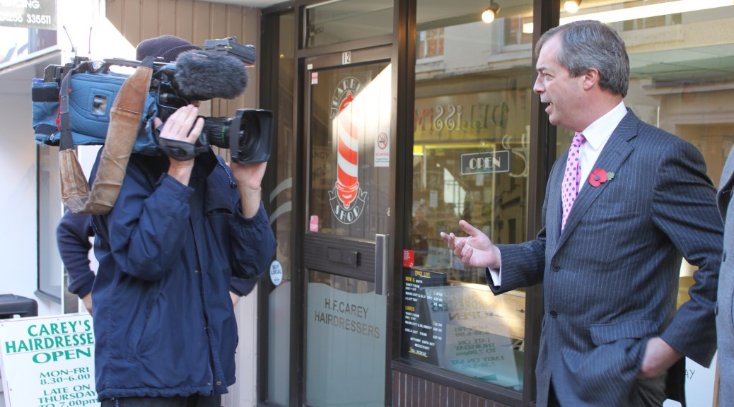 Farage needs media training