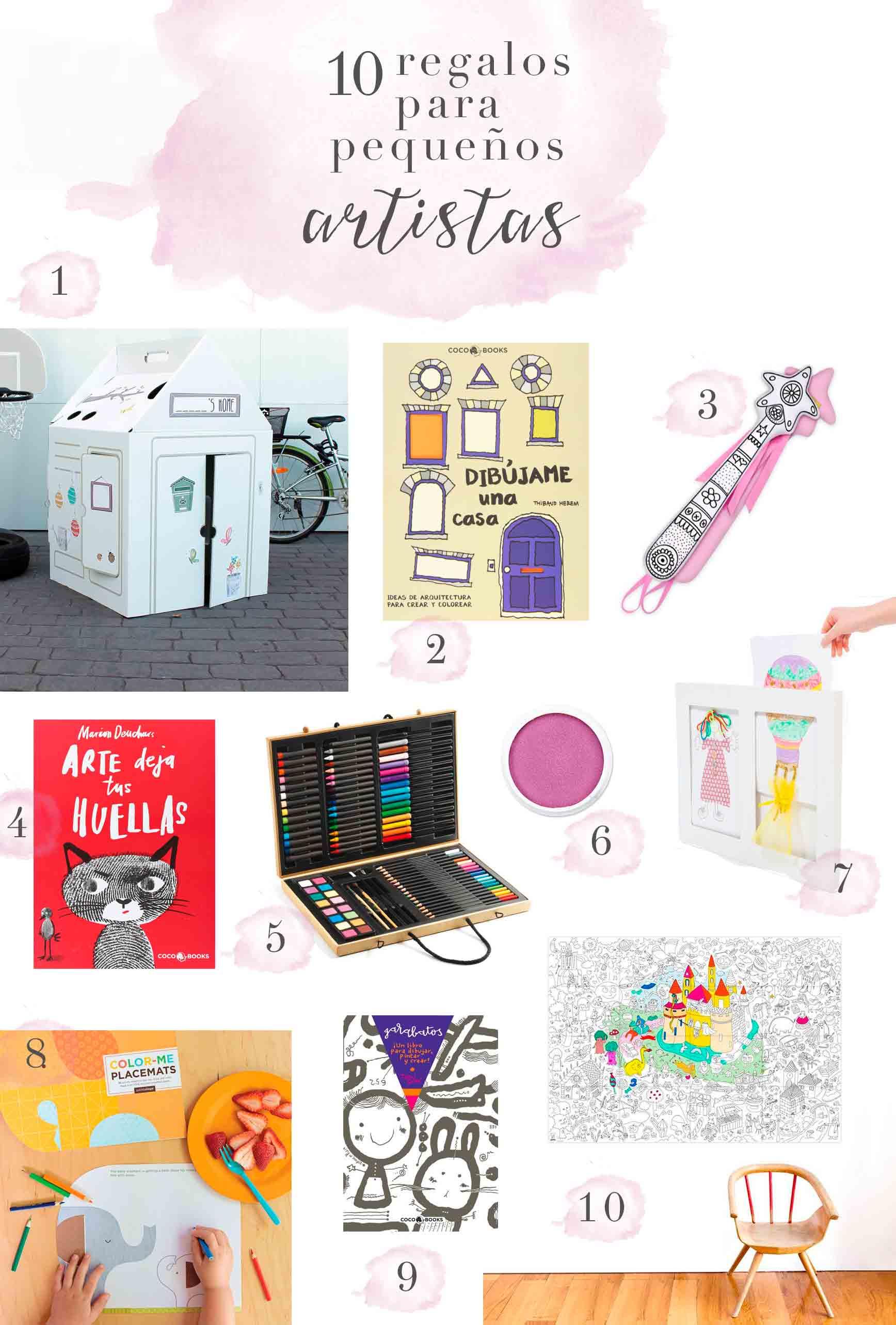 10 Regalos Para Pequeños Artistas Clarabmartin