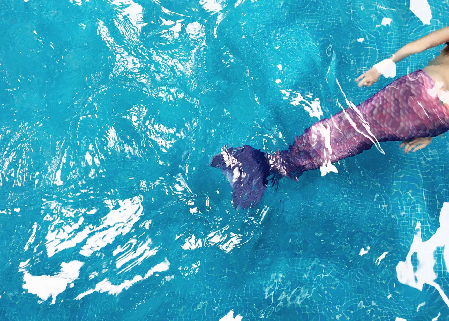 Convertirse En Sirena Por Un Día