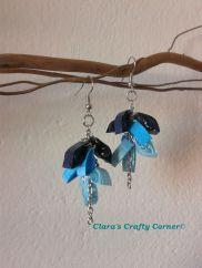 Blue Dangling Earrings CODE : DE007 PRICE : RM18/USD6