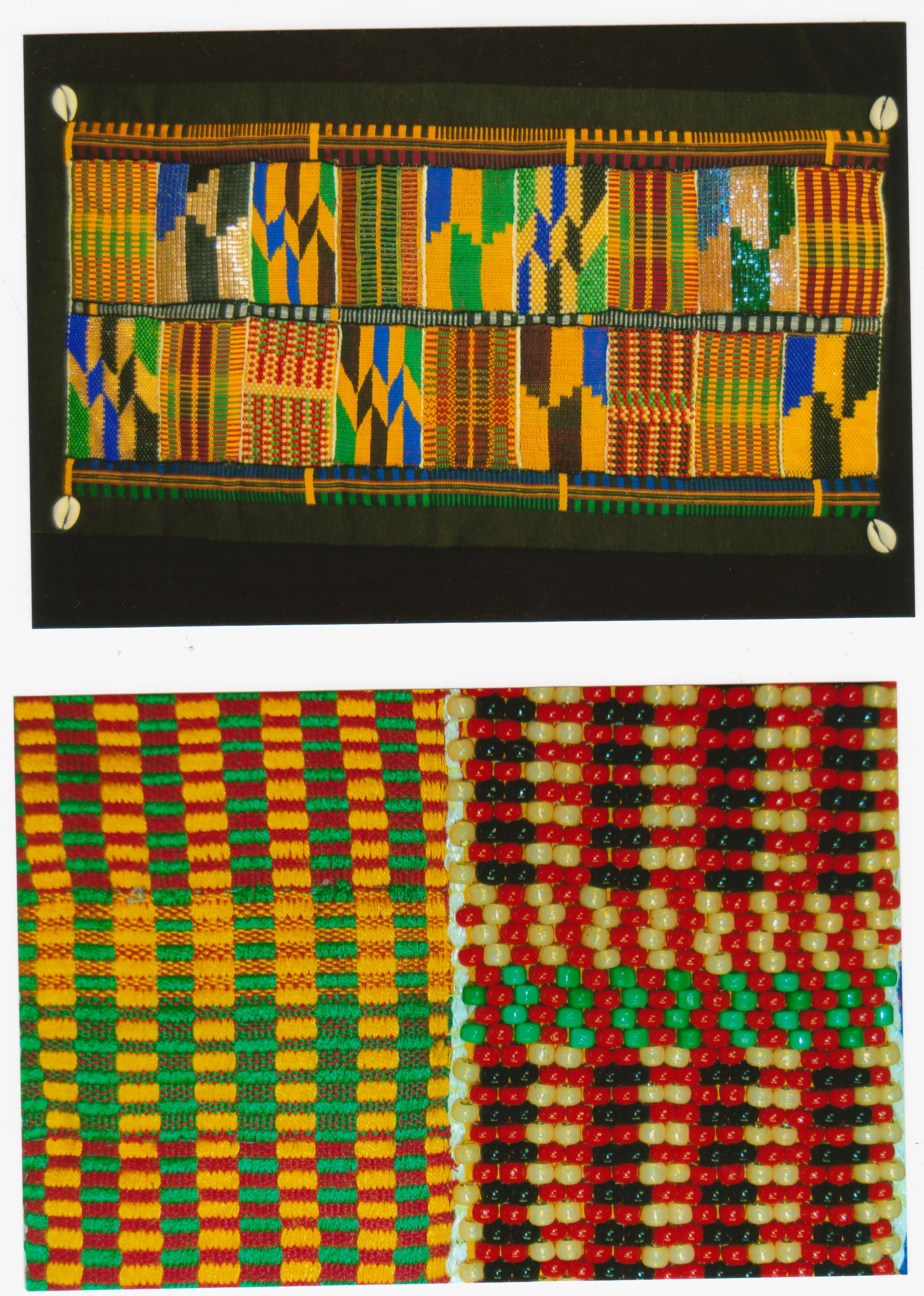 Kente Cloth by Elaine Parker