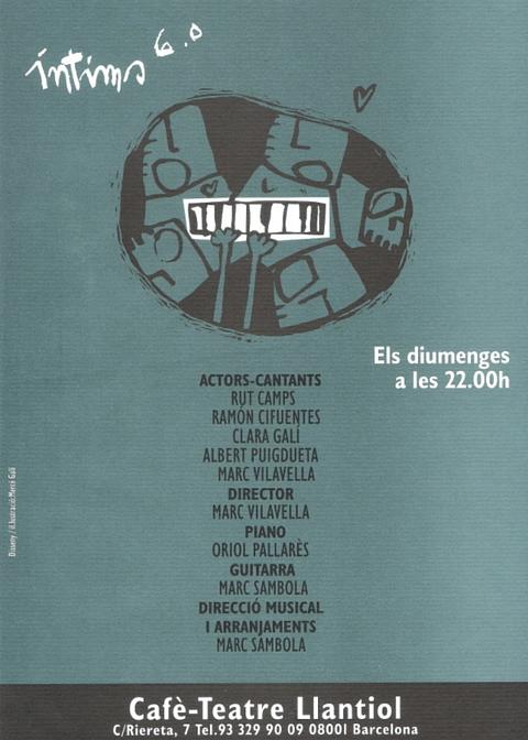 Clara Gali - Intims 6.0 - Cafe-Teatre Llantiol