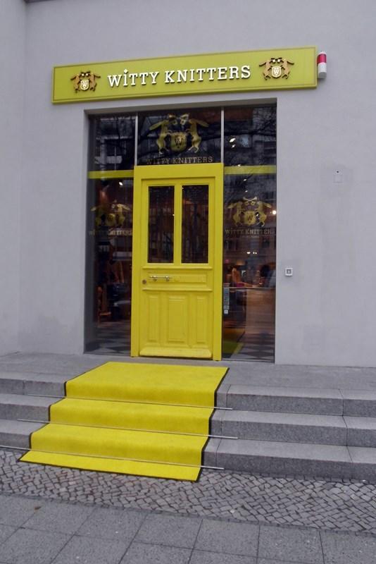 der gelbe Teppich