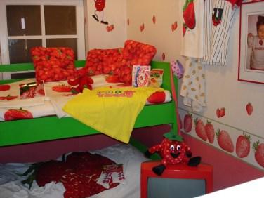 Hier gibt es ein Kinderzimmer, in dem es von allem zu viel gibt.