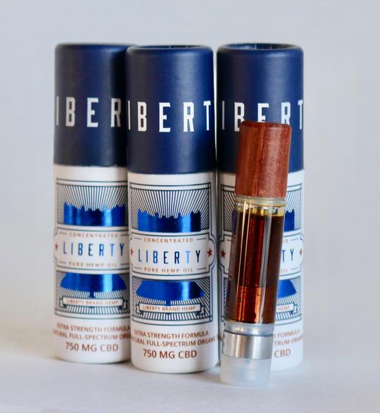 Liberty Vape Carts - 750mg CBD