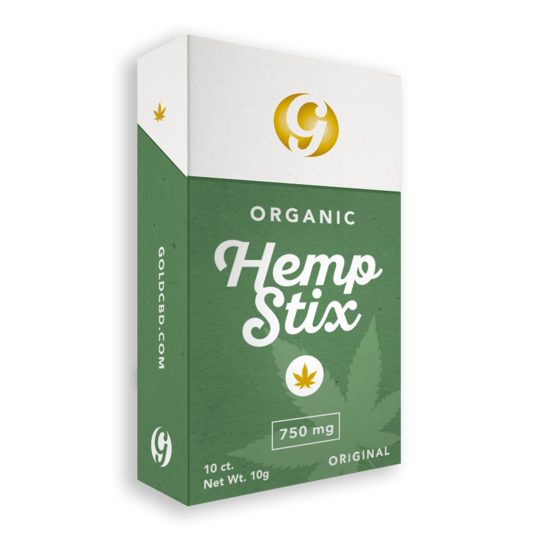 Gold Standard Hemp Stix - 750mg CBD
