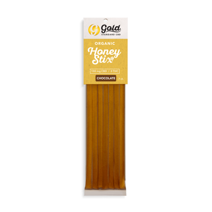 Gold Standard Chocolate CBD Honey Stix