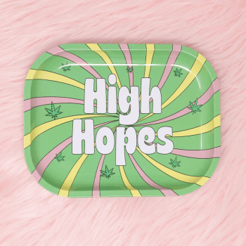 High Hopes Rolling Tray