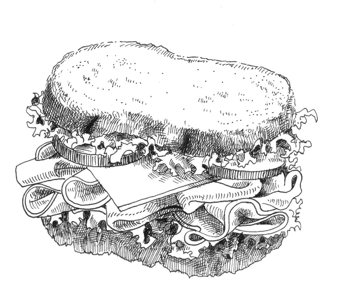 Sandwich Drawing News Vip Site