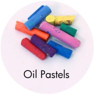 Drawing supplies: Oil Pastels