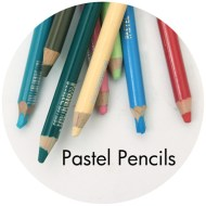 Drawing supplies: Pastel pencils