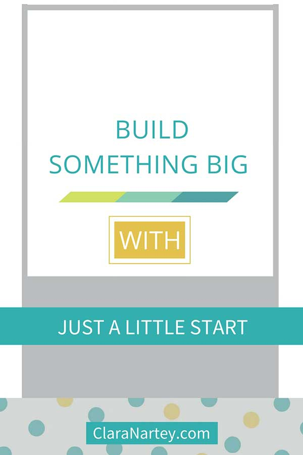 How to build something big