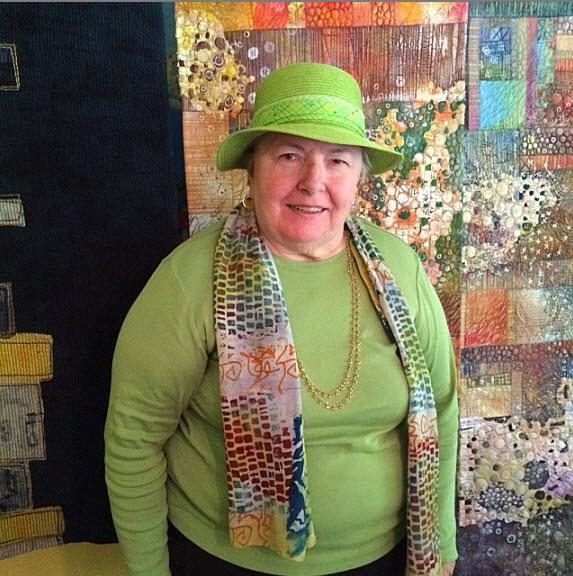 Del Thomas- textile Art Collector