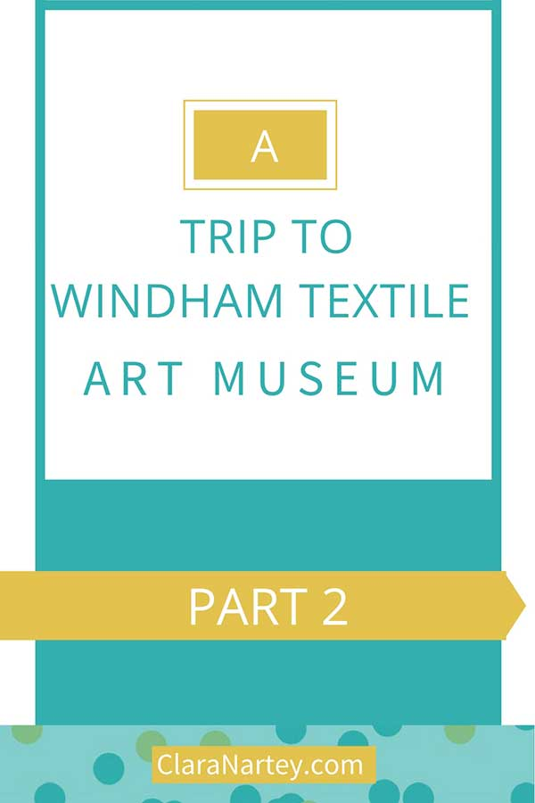 Trip to a textile museum