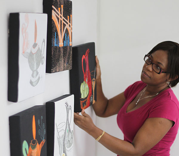 Solo Art Show - Curating
