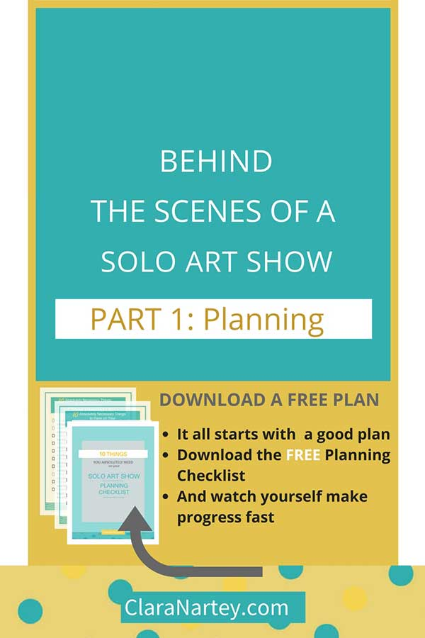 solo art show: Master Planning