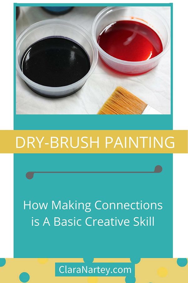 Making Connections | Dry- Brush Painting | Fabric Painting