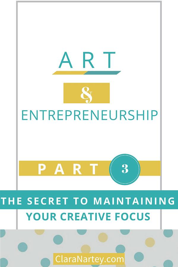 Creative focus | Art Marketing | Art and Money