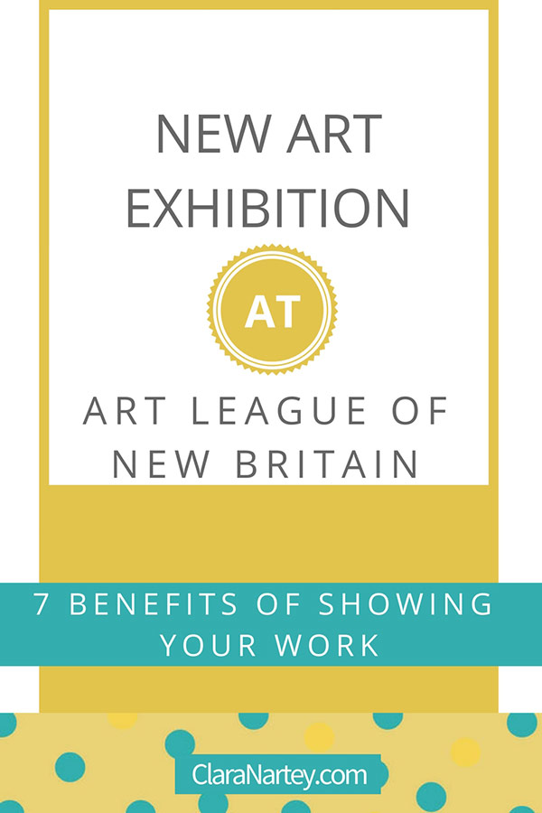 Share Your Art | Showing Your Work | 7 Benefits
