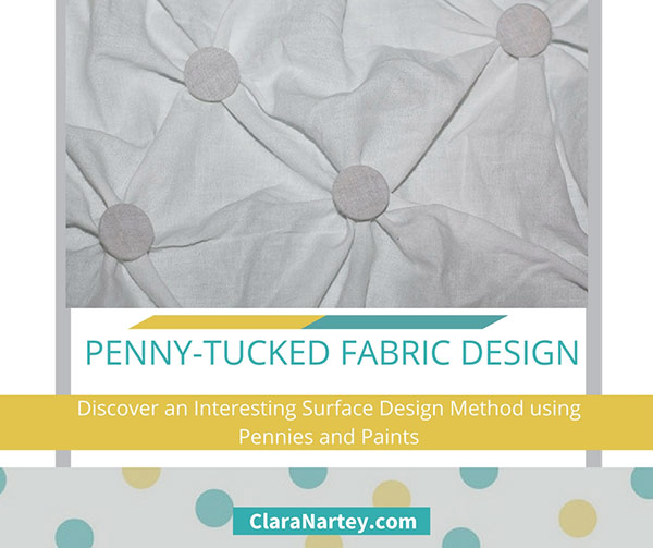Penny-Tucked Fabric Design