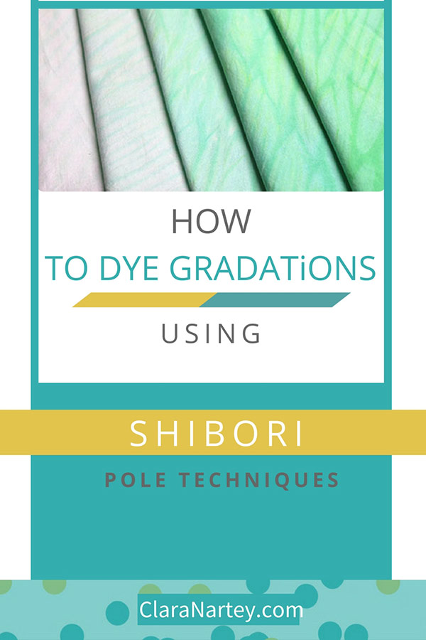 FREE Tutorial| Shibori Gradation Dyeing Tutorial |Shibori pole Techniques |MX Procyon Dyes