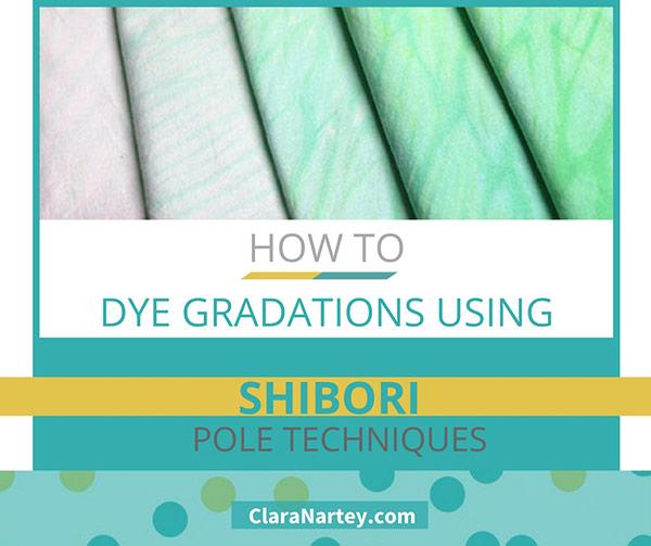 Shibori Gradation Dyeing Tutorial