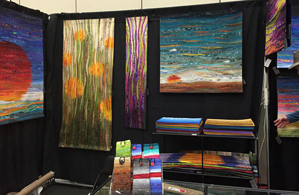 Ann Brauer's Booth at the Baltimore Craft Show