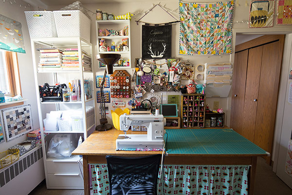 Fabric Design by Jeni Baker | Sewing Room