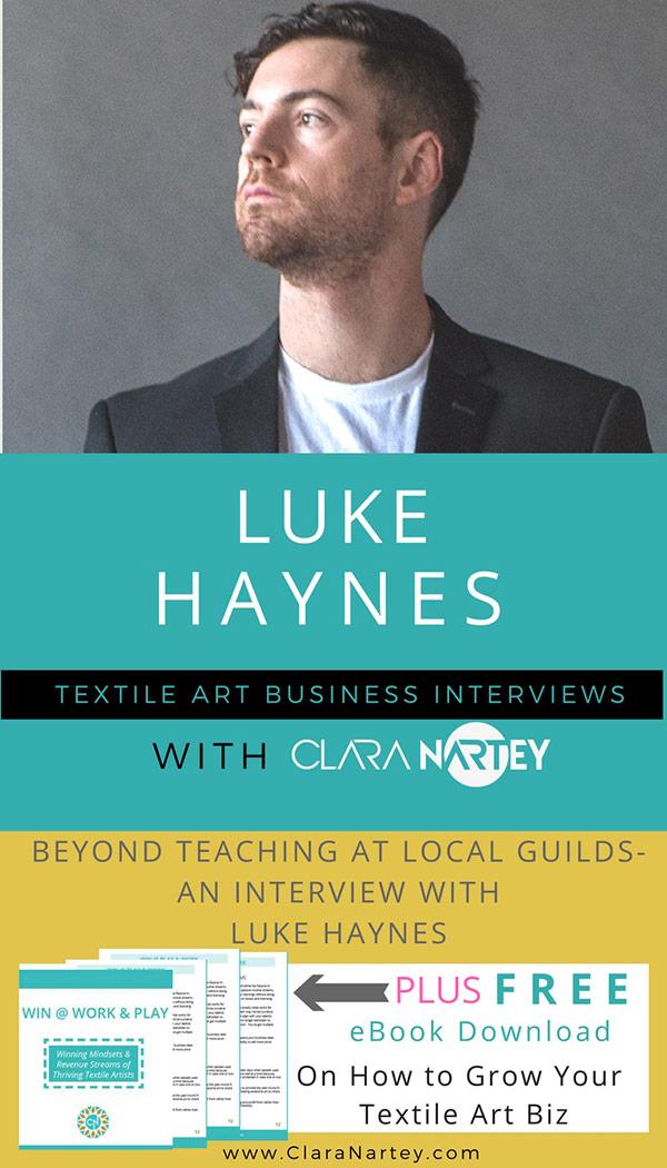 Luke Haynes   Quilt Teacher   Textile Artist