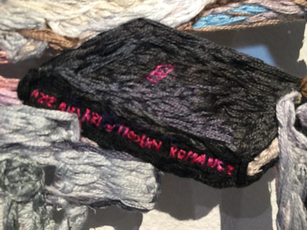 Thread art at Hunterdon Art Museum | Drawing with Thread | Thread Artists | Sophia Narrett
