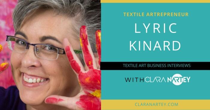 How to Teach Textile Art Online – An Interview with Lyric Kinard